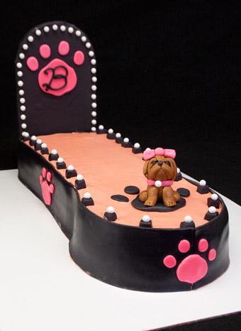 Doggie Fashion Show Cake