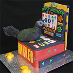 Slot Machine Birthday Cake