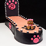 Doggie Fashion Show Cake