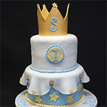 Crown Birthday Cake