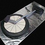 Unicycle Cake