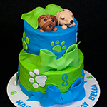 Bella Puppy Cake