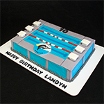 Cincinnati Marlins Cake