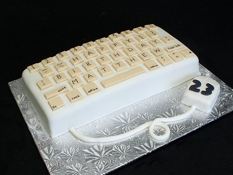Birthday Cake Keyboard Symbols