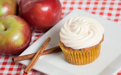 Cinnamon Apple Cupcakes